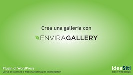 crea-galleria-envira in Wordpress