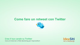come si fa a retwittare