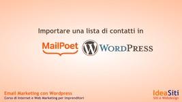 importarte-una-lista-contatti in MailPoet
