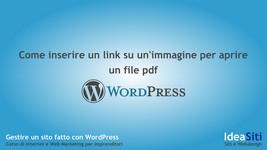 Come inserire un link ad un PDF in un articolo o pagina in WordPress