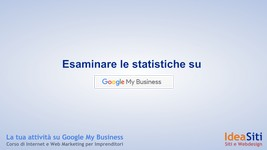 Come analizzare le statistiche in Google My Business