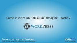 Come inserire un link da un'immagine ad una pagina di un sito
