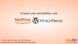 Come inviare una newsletter con MailPoet2