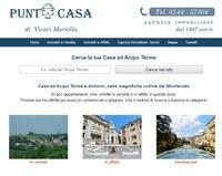 Sito per agenzia immobiliare Acqui Terme