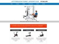 sito per negozio di articoli sportivi Acqui Terme