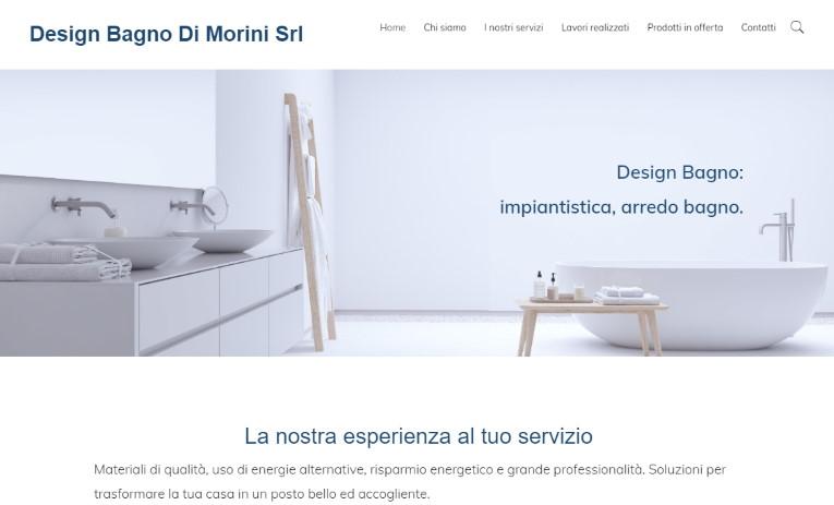 sito per Design Bagno Di Morini Srl