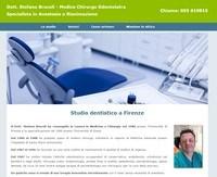 Sito per studio dentistico di Firenze