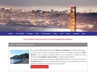 Sito per guida turistica a San Francisco